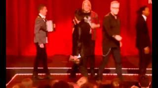 madcon angry over racist plumbo møkkamann black joke spellemann awards 2012
