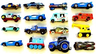 Street Vehicles For Kids - Learn Names and Sounds of Cars, Blue Color Vehicles, Educational Video