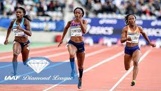 The 13 Fastest Ever Women to Run a Diamond League 100m - IAAF Diamond League