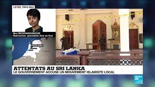 Attentats au Sri Lanka : le gouvernement accuse un mouvement islamiste local