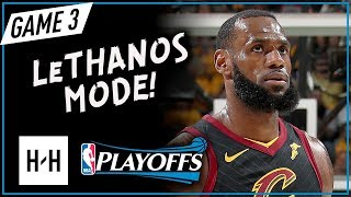 LeBron James CRAZY Full Game 3 Highlights vs Celtics 2018 Playoffs ECF - 27 Pts, 12 Assists, BLOWOUT