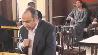 كواليس مسلسل حارة اليهود -  خفة دم الفنان سامى العدل فى لعب الطاولة .... رمضان 2015