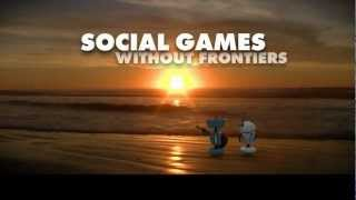 LazyLand: Social Games Without Frontiers