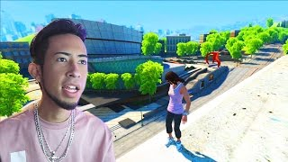 Skate 3 Xbox One: ON TOP OF BUILDING! | SKATE 3 GLITCHES