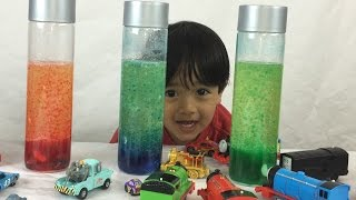 How to Make a Homemade Lava Lamp! Easy Science Experiments for Kids