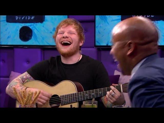 Ed Sheeran improviseert erop los - RTL LATE NIGHT