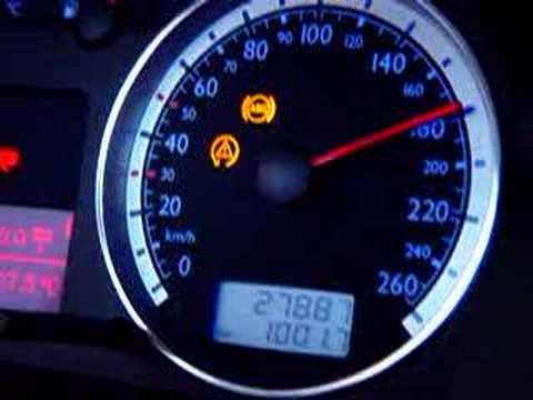 GOLF GTI VR6 0 a 260 kmh DINAMÔMETRO faltou 500 rpm