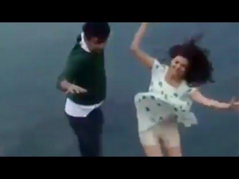 Actress Kajal Agarwal and Jeeva Jumping From Mountain | Shooting Spot Galatta