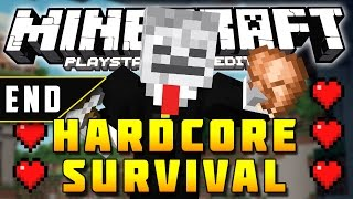Minecraft PS3 - Hardcore Survival - Part 70 - VICTORY OR DEFEAT! ( PS3 )