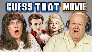 ELDERS GUESS THAT MOVIE CHALLENGE (REACT)