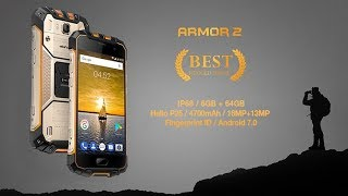 IP68 Rated Rugged Flagship Ulefone Armor 2 Official Introduction