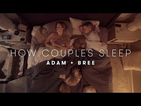 Adam & Bree s Story How Couples Sleep Cut