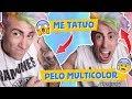Download Video Download RETO: CAMBIO DE LOOK EXTREMO!! *tatuajes, piercing, cabello de color* 3GP MP4 FLV