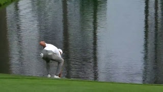 Live from Hole No. 16 on Tuesday at the Masters