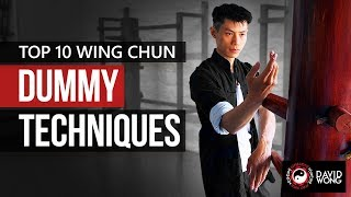 Wing Chun Wooden Dummy Training Form Section 1 - Part 1