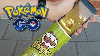 Hatching Pokemon GO Eggs With Pringles Can