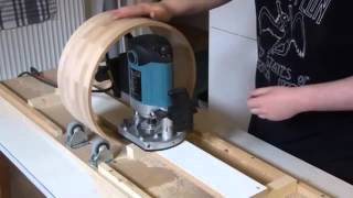 Jig For Milling Inside of Drum Shell