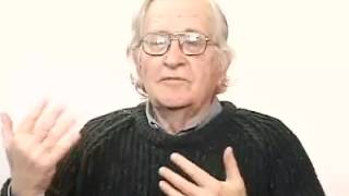 """Chomsky bashing on Neoconservatism """"The neocons are even more extreme"""""""