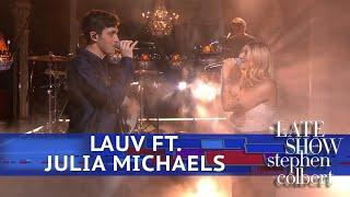 Lauv Performs
