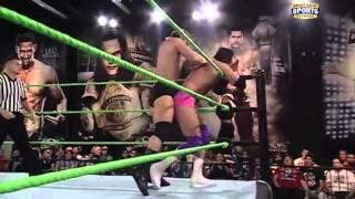 Dean Ambrose & Leakee vs Leo Kruger & Damien Sandow