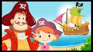 Les gentils pirates - chanson enfant - monde des petits