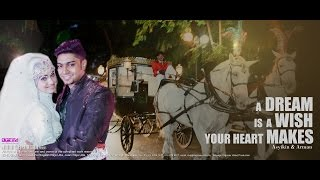Cinderella Horse Carriage | Indian Muslim Wedding | Arman & Asyikin | by Digimax Video Productions
