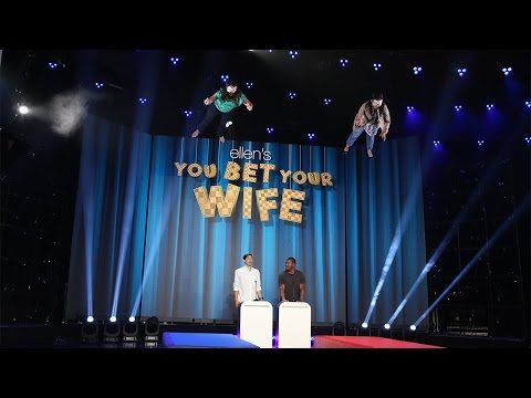 Ellen s New Game You Bet Your Wife