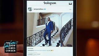 Celebrity Instagram: Jamie Foxx, Miley Cyrus