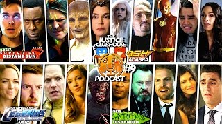 The Justice Clubhouse Podcast #9 : DCTV Legends Finale, The Flash New Suit, Supergirl vs Queen Rhea