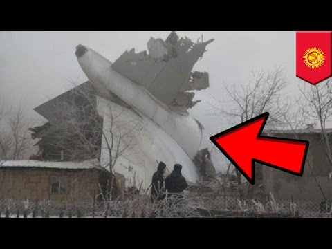 Plane crashes into buildings while landing in fog in Kyrgyzstan, dozens killed - TomoNews