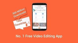 VivaVideo Google Play Preview Video - Best Video Editor App
