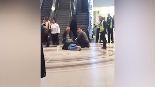 Moments after alleged gang shooting at Cape Town International Airport