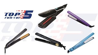 Top 5 Best Flat Iron Hair Straightener For 2017 - 2018