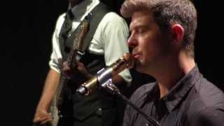 """Robin Thicke - """"Dreamworld"""" live from Interscope Introducing"""