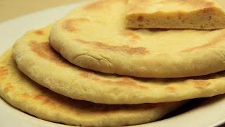 Sade Bazlama Tarifi - Tavada Kolay Yaş Mayalı Ekmek