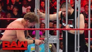 Kevin Owens is released from the shark cage: Raw, Jan. 23, 2017