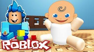 Şaşkın Bebek Ve Kardeşi Roblox Dünyasında - Roblox Yeni #Çizgifilm