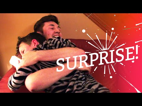 SURPRISING MY BROTHER ON HIS BIRTHDAY