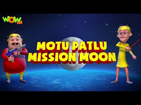 Motu Patlu Mission Moon - Movie - ENGLISH, SPANISH & FRENCH SUBTITLES!