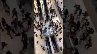 Hong Kong Clashes Inside Mall Turn Violent