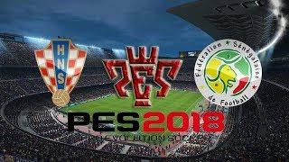 Croatia vs Senegal International Friendly match HD  Pes 2018