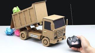 How to Make Amazing Dump Truck - Powered Dump Truck DIY