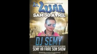 Semy fait son show à la discotheque LA LUNA