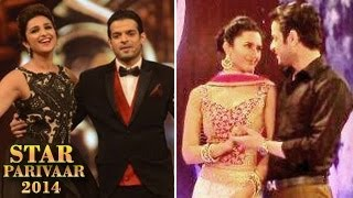 Yeh Hai Mohabbatein's Raman & Ishita in Star Parivaar Awards 2014 FULL EVENT