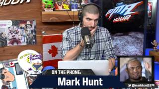 Mark Hunt: UFC 'Forced' Alistair Overeem Fight on Me
