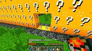 MINECRAFT 2v2 LUCKY BLOCK WALLS