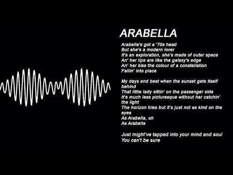 AM FULL ALBUM LYRICS ON SCREEN .´