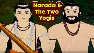 Swami Vivekananda Tales | Narada And The Two Yogis | Hindi Animated Stories | Masti Ki Paathshala