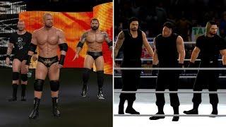 TOP 10 WWE FACTION ENTRANCES (WWE 2K Top 10)