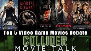 Top 5 Video Game Movie Debate - Collider Movie Talk